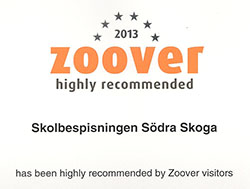 Zoover Highly Recommended Award 2013